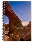 Sun And Arch Spiral Notebook