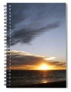 Sun And Clouds Spiral Notebook
