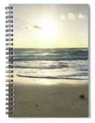 Sun And Sand Spiral Notebook