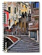 Sun And Shade Spiral Notebook