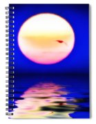Sun And Water Spiral Notebook