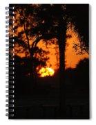 Sun Ball Spiral Notebook