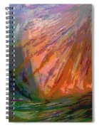 Sun Field Spiral Notebook
