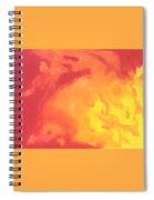 Sun Fire Spiral Notebook