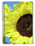 Sun Flower Garden Art Prints Sunflowers Baslee Troutman Spiral Notebook