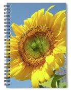 Sun Flowers Garden Art Prints Baslee Troutman Spiral Notebook