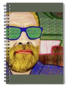 Sun Glasses Spiral Notebook