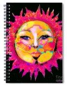 Sun Goddess She Sun Spiral Notebook