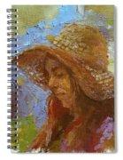Sun Hat #1 Spiral Notebook