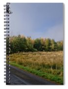 Sun In Glen. Spiral Notebook