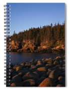 Sun Kissed Acadia Spiral Notebook