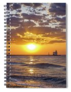 Sun Kissed Spiral Notebook