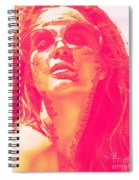 Sun Kissed Pearlesqued Spiral Notebook