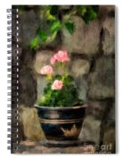 Sun Kissed Pinks Spiral Notebook