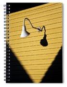 Sun Lamp Spiral Notebook