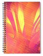 Sun Leaves Spiral Notebook