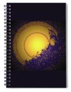 Sun On The Edge Of Night Spiral Notebook