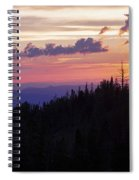 Sun Over Cedar Spiral Notebook