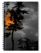 Sun Over Spring Ridge Spiral Notebook