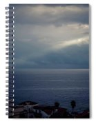 Sun Ray On The Med Spiral Notebook