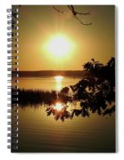 Sun Rise, Hamlin Lake Photograph Spiral Notebook