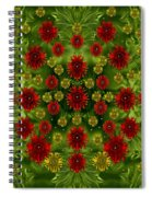Sun Roses In The Deep Dark Forest With Fantasy And Flair Spiral Notebook