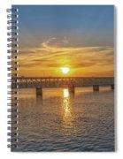 Sun Set Shoals Spiral Notebook