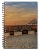 Sun Set Shoals2 Spiral Notebook