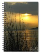 Sun Setting From Eastern Point Spiral Notebook