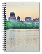 Sun Rise In Indianapolis Spiral Notebook