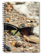 Sun Shades And Sea Shells Spiral Notebook