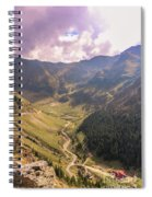 Sun Shining In The Valley Spiral Notebook