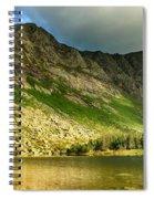 Sun Shining On Chimney Pond  Spiral Notebook