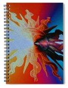 Sun Tattoo Spiral Notebook