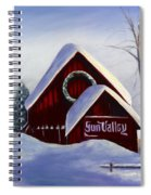 Sun Valley 3 Spiral Notebook