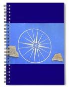 Sun Wheel Spiral Notebook