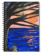 Sun Worshipping Spiral Notebook