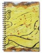 Sunbathing Time Spiral Notebook