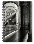Sunbeam Inside The Church Spiral Notebook