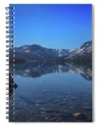 Sunbeams On Fallen Leaf Lake Spiral Notebook