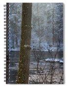 Sunbreak On A Snowy Day Spiral Notebook