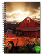 Sunburst At The Farm Spiral Notebook