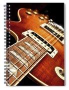 Sunburst Electric Guitar Spiral Notebook