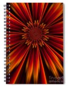 Sunburst Spiral Notebook