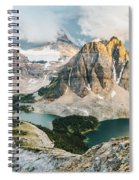 Sunburst Peak Spiral Notebook