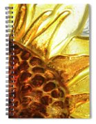 Sunburst Sunflower Spiral Notebook