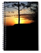 Sunburst Sunset Spiral Notebook