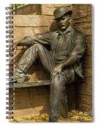 Sundance Kid Statue 5 Spiral Notebook