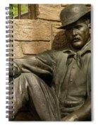 Sundance Kid Statue 6 Spiral Notebook