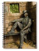 Sundance Kid Statue Spiral Notebook